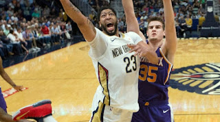 50+ point-game for Anthony Davis