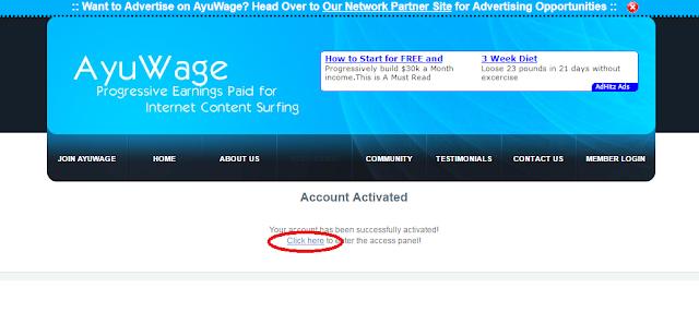 klik teks link yang saya lingkari