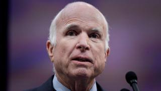 Labarai duniya ::   Sanata John McCain na Amurka ya mutu