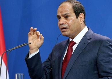 الرئيس السيسى, اعلان حالة الطوارئ, جميع انحاء البلاد, رئيس الوزراء, حظر التجوال, شمال سيناء,
