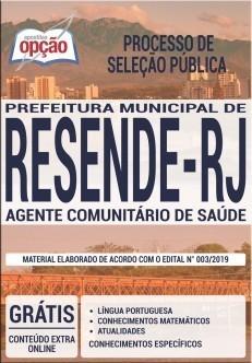 Concurso Prefeitura de Resende abre 103 vagas