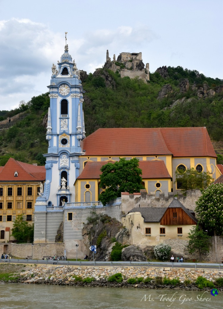 Durnstein : A fairy tale medieval town may be the most picturesque town in Austria | Ms. Toody Goo Shoes #austria #danuberivercruise #Durnstein