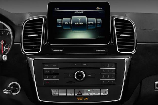 Mercedes GLS 500 4MATIC 2017 sử dụng Hệ thống giải trí tiên tiến và hàng đầu của Mercedes hiện nay
