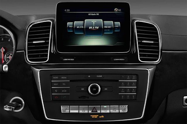 Mercedes GLS 500 4MATIC 2019 sử dụng Hệ thống giải trí tiên tiến và hàng đầu của Mercedes hiện nay
