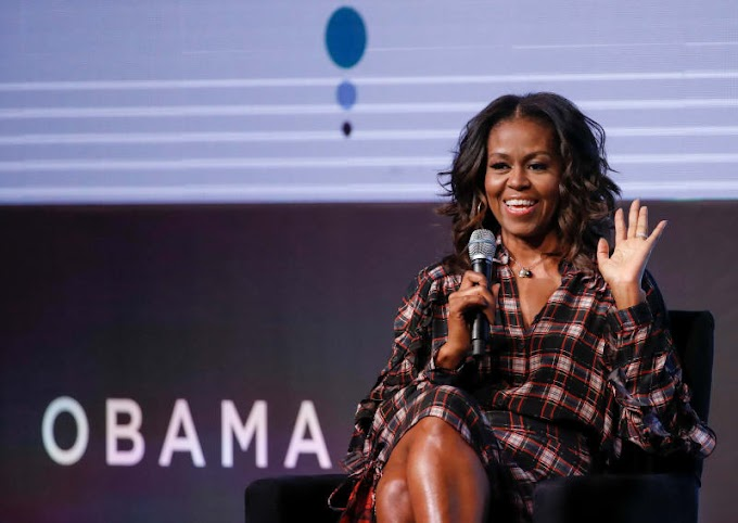 Michelle Obama Lectures Men: 'Y'all Need To Go Talk To Each Other'