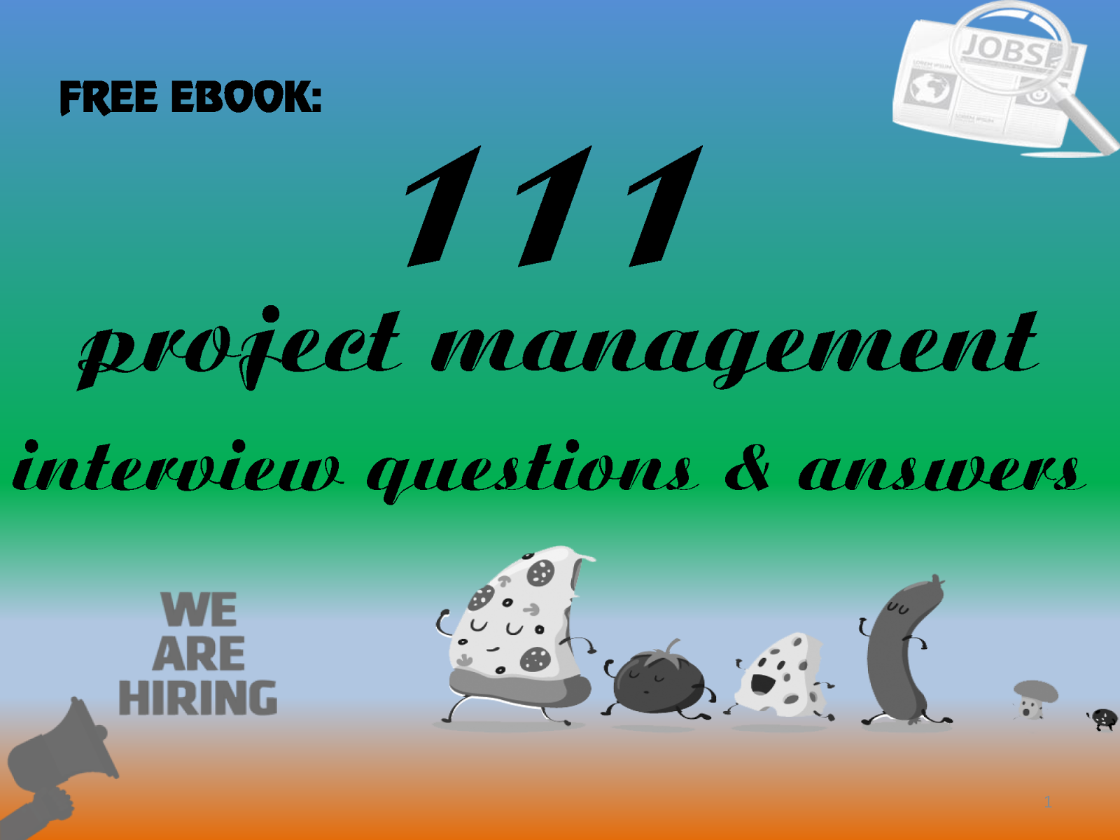 project manager job interview questions