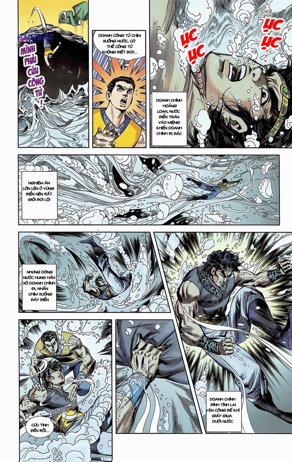 Tần Vương Doanh Chính chapter 6 trang 4