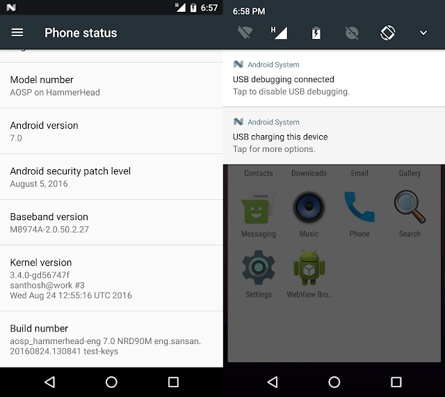 LG Nexus 5 gets AOSP Android 7.0 Nougat Port
