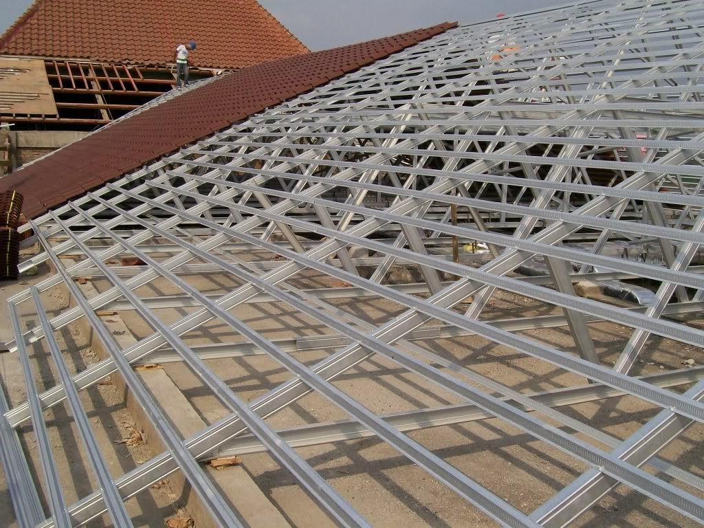 jasa pemasangan baja ringan di depok rangka atap