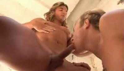 sexo gay Loirão Cabeludo e bem dotado