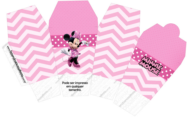 Pretty Minnie in Pink: Free Printable Boxes.