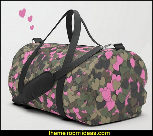 Hearts camouflage Duffle Bag   Army bedroom ideas - Army Room Decor - army bedroom accessories - Military bedrooms camouflage decorating - Marines decor boys army rooms - camo themed rooms - Military Soldier - Uncle Sam Military home decor - Airforce Rooms - military aircraft bedroom decorating ideas - boys army bedroom ideas - Navy themed decorating - girls camo decor