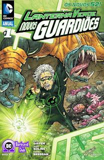 Os Novos 52! Lanterna Verde - Os Novos Guardiões - Anual #1