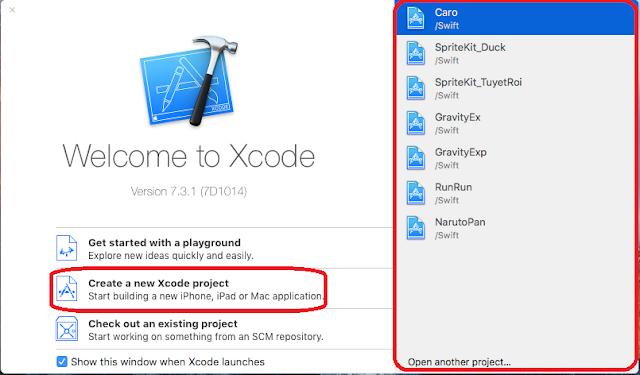 Làm quen với Xcode 1