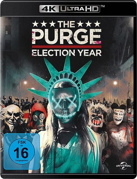The Purge: Election Year 4K (12 Horas para Sobrevivir: El Año de la Elección 4K) (2016) 2160p 4K UltraHD HDR BDRip 21GB mkv Dual Audio DTS-X 7.1 ch