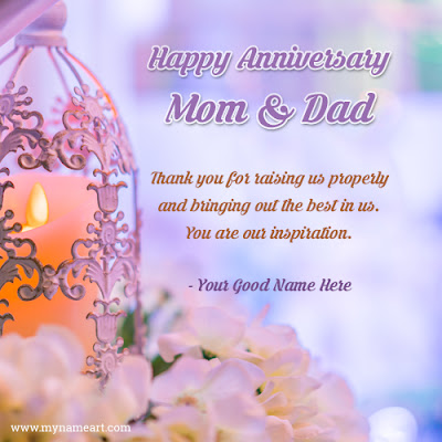 wedding anniversary wishes for parents in english