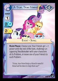 MLP A True, True Friend High Magic CCG Card