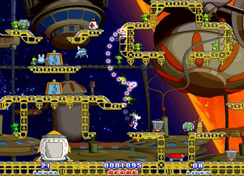 لعبة الاطفال Milky Bear Rescue Rocket للكمبيوتر واللاب توب