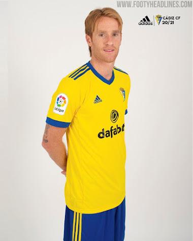 Cádiz 20-21 La Liga Home & Away Kits Released - Footy Headlines