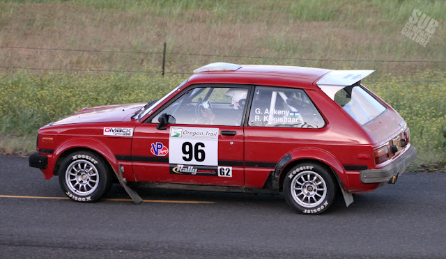 1981 Toyota Starlet Rally Car