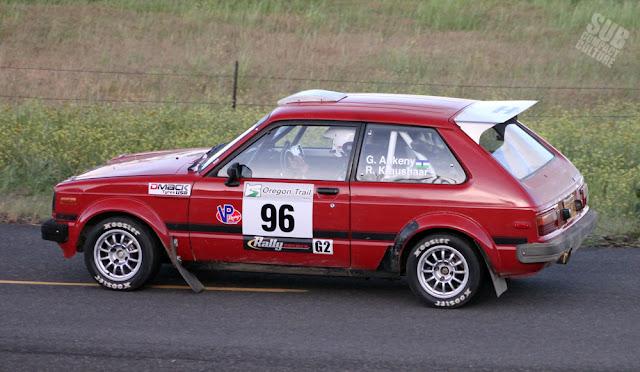 1981 Toyota Starlet Rally Car