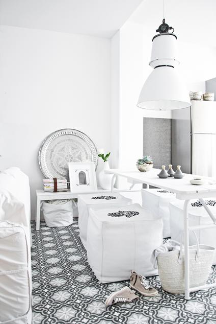 Inspiracje w moim mieszkaniu maroka skie pod ogi moroccan floor - Marokkaanse design decoratie ...