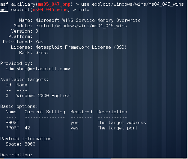 Exploit Vulnerabilities of Windows 2000 Server using NMAP