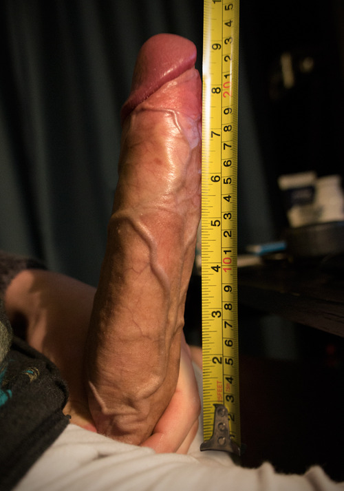 tape  measure huge cock