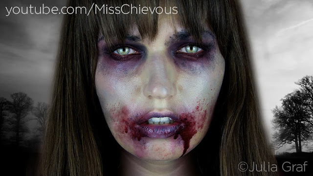Gory zombie special fx makeup tutorial youtube.