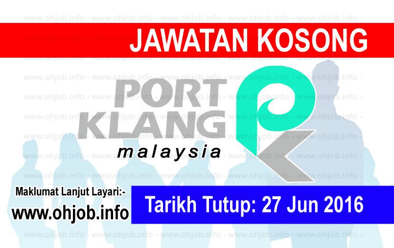 Jawatan Kerja Kosong Lembaga Pelabuhan Kelang (PKA) logo www.ohjob.info jun 2016