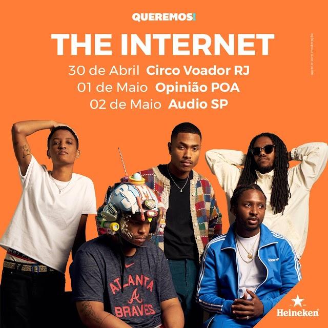 The Internet vem para o Brasil em 2019