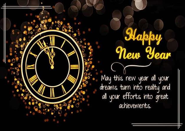 Happy New Year Greetings Wishes 2020