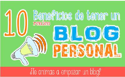 Las 10 Ventajas de Tener Un Blog Personal y de Temática General