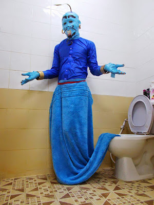Disfraz de Genio cosplay