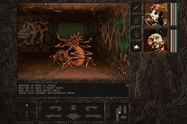 Indie Retro News: Aeon of Sands - Dungeon Crawling RPG ...