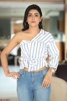 Avantika Mishra in One Shoulder Crop Top and Denim Jeggings ~  Exclusive 061.JPG