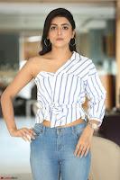 Avantika Mishra in One Shoulder Crop Top and Denim Jeggings ~  Exclusive 061.JPG