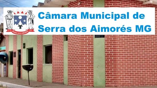 edital Concurso Câmara de Serra dos Aimorés 2018