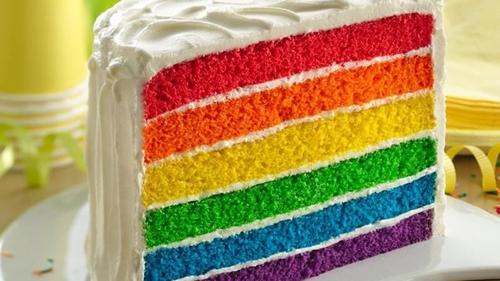 Resep Rainbow Cake Panggang Mudah