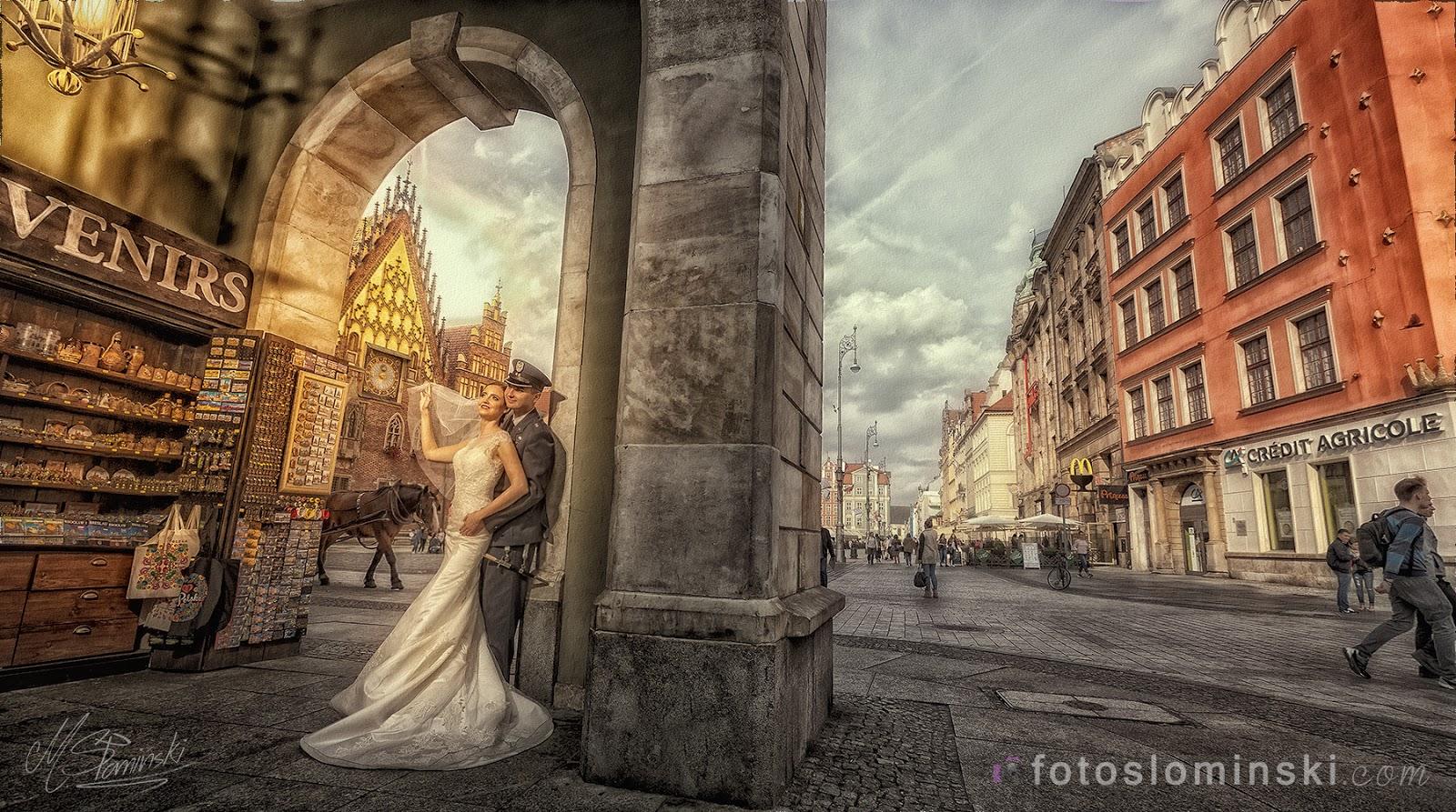 Wyjątkowo piękne miasto Wrocław - #ZdjęciaSłomińskiego z Wrocławia - Fotografia ślubna Wrocław.