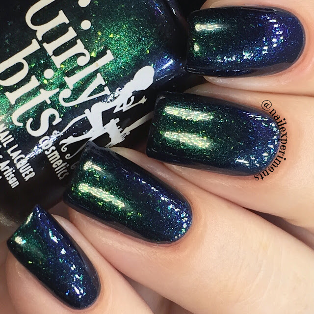 girly bits meteor shower september 2017 cotm colour of the month