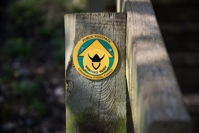 Viking Way way-marker