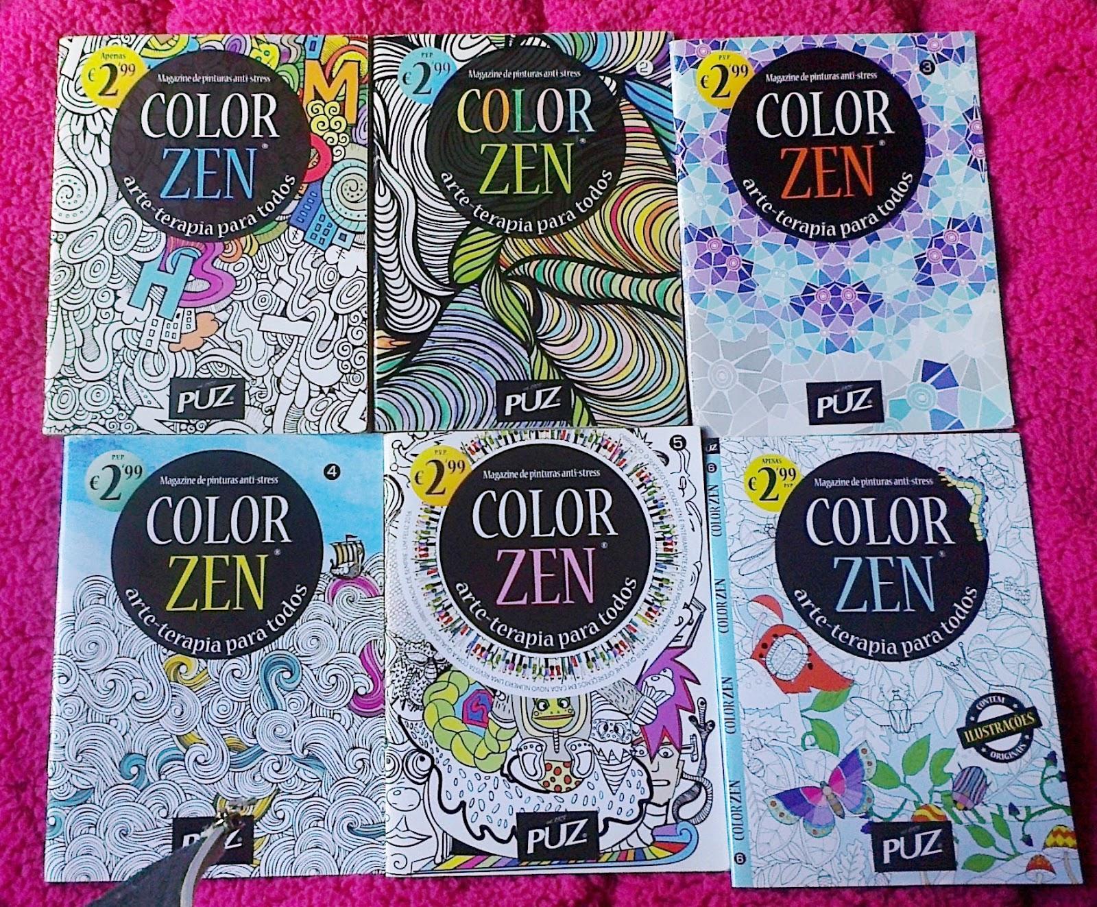 Color zen magazine - Desde A Nunca Mais Parei E Agora Compro Todas As Edi Es Da Color Zen Pois Foi A Que Mais Gostei Ela Sai De 2 Em 2 Meses E Custa Apenas 2 99