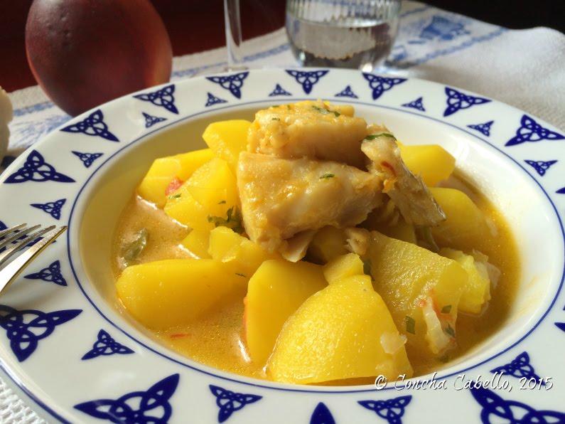 azafrán-patatas