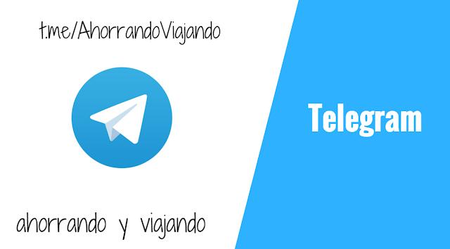 Ahorrando y Viajando en Telegram