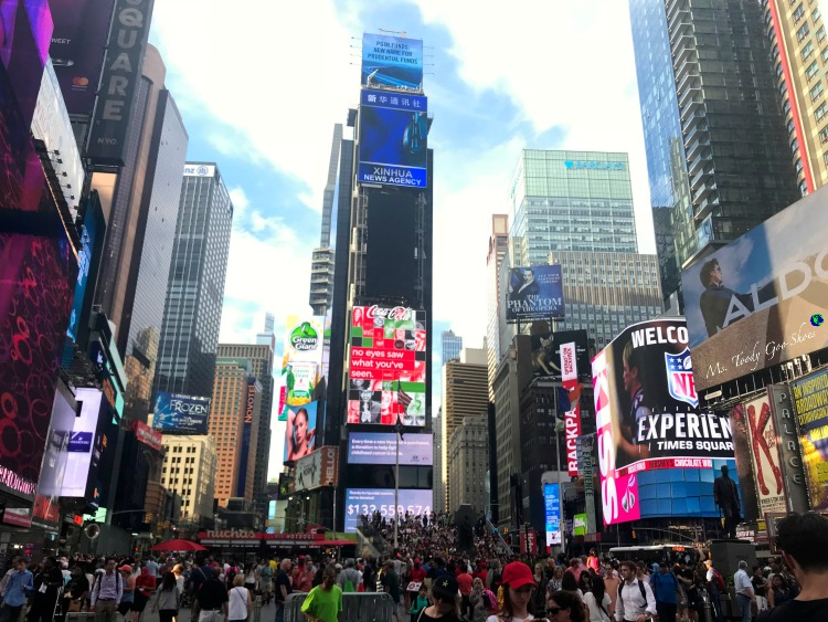 Times Square NYC | Ms. Toody Goo Shoes