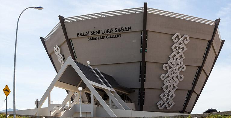 Asia Kinabalu City Borneo Art Gallery Tourist Attraction