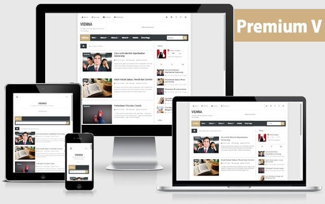 Premium minima colored  responsive blogger template