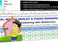 Aplikasi Jadwal Sholat Dan Puasa Ramadhan dengan Excel