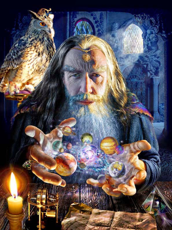 The Test Blog for Blogger and Gadgets: Merlin the Wizard